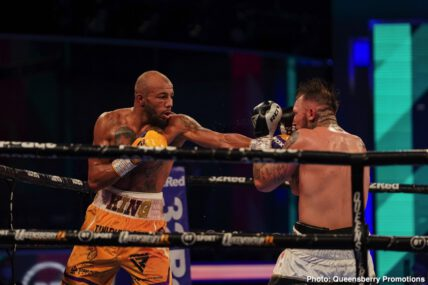 Dec Spelman, Lyndon Arthur - Boxing News