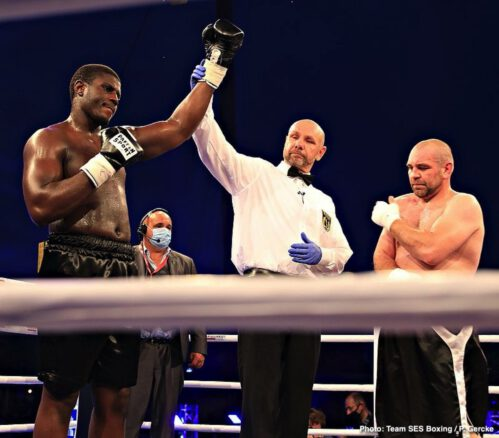 Agit Kabayel - Agit Kabayel Remains Unbeaten As He Pounds Out Ten Round UD Win Over Evgenios Lazaridis