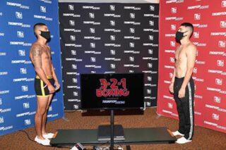 Jorge Marron Jr., Michael Dutchover - Photos by Carlos Baeza - Thompson Boxing Promotions