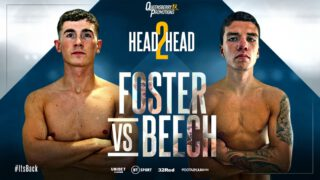 """Brad Foster - KEY WORKER Brad Foster has put the Lockdown night shifts at Tesco behind him and is looking forward to what he predicts will be a """"massive event"""" when he faces James Beech Jr on Friday night, live only on BT Sport."""