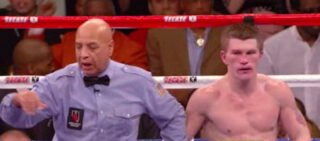Did Referee  Cortez Really Prevent Ricky Hatton From Fighting His Fight Against Mayweather?