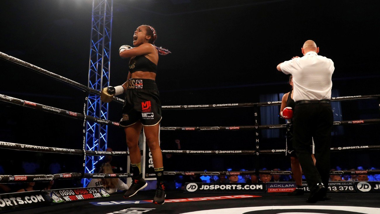Natasha Jonas, Terri Harper - Natasha Jonas is confident that Terri Harper won't be able to deal with 'the best version' of her as the Super-Featherweights prepare to meet in a historic clash on Week 2 of Matchroom Fight Camp from Brentwood, Essex on Friday, August 7. The fight will be shown live on Sky Sports in the UK and DAZN in the US.