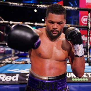 Alexander Usyk - JOE JOYCE BELIEVES he is fighting for promotional priority, as well as the British and European titles, when he takes on Daniel Dubois in a huge heavyweight collision on November 28.