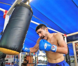 """Jorge Marron Jr., Michael Dutchover - Tough lightweight prospect Jorge Marron Jr. (18-1, 6 KOs) is looking to play spoiler when he fights Michael """"West Texas Warrior"""" Dutchover (13-1, 10 KOs), on Sunday, July 26, 2020, in the 8-round main of 3-2-1 Boxing presented by Thompson Boxing Promotions, a live pay-per-view streaming event taking place at the Omega Products International Event Center in Corona, California. The public will not be allowed to attend this event due to current health and wellness regulations caused by COVID-19."""