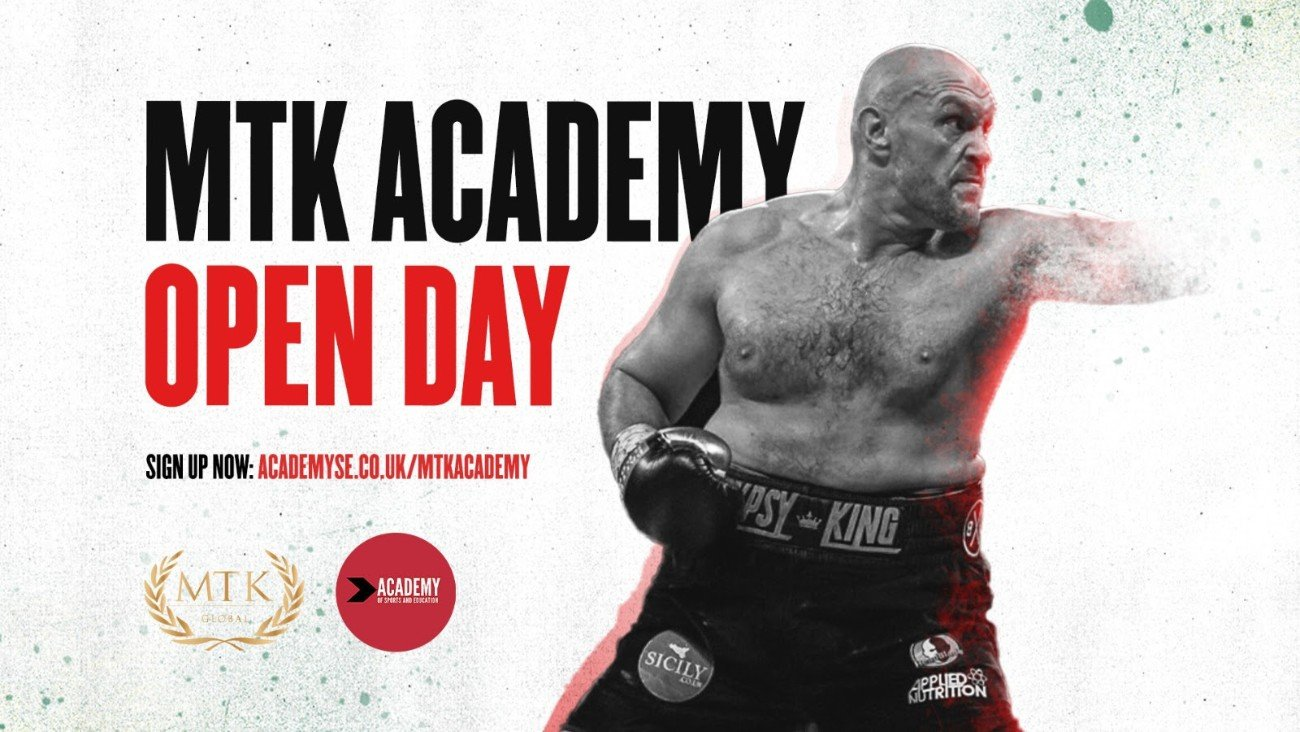 - MTK Global is delighted to announce a number of open days for the #MTKAcademy - where members can experience a series of training sessions at their chosen academy centre, meet their trainers and begin their journeys in the sport.