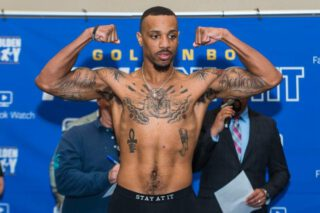 Christopher Pearson - Surging middleweight contender Christopher Pearson is ready for a breakthrough performance against any of the top names at 160 or 168 divisions.