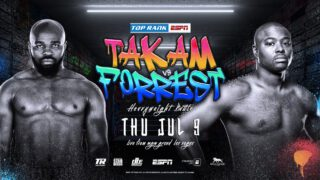 Carlos Takam - Takam has been at, or near, the top of the heavyweight hierarchy for the past decade. He is a former world title challenger who has won three fights in a row and is seeking another championship opportunity at the age of 39.