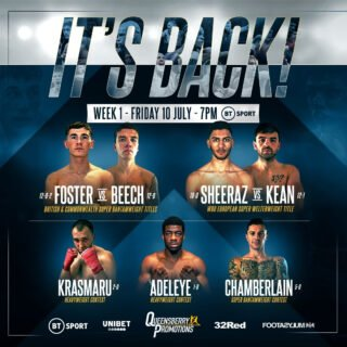 "Mark Chamberlain - Frank Warren has fired the starting pistol on the first British boxing fight week in four months by issuing a challenge to the dazzling array of young talent on show this Friday evening: ""This is the opportunity of a lifetime, so don't screw it up."""