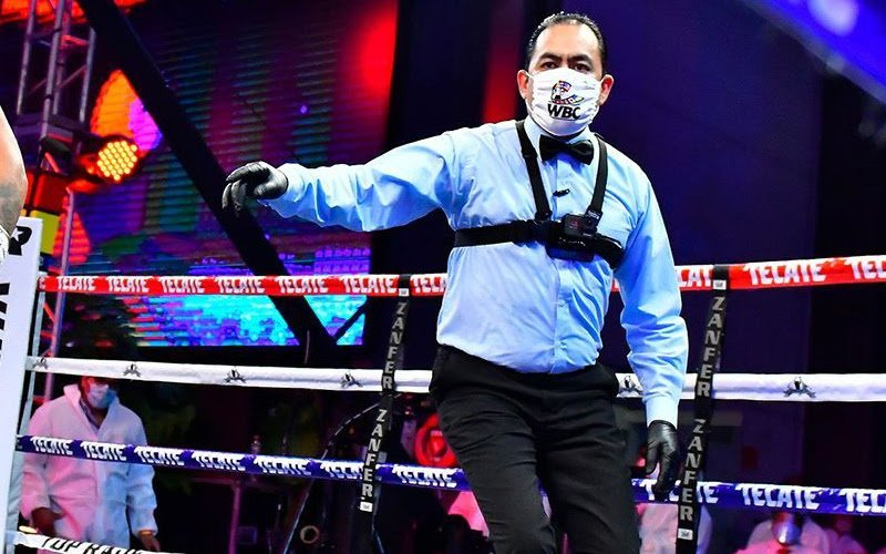 - Concerning televised fights that have been broadcast during this return stage of boxing, fans and specialists from different parts of the world have approached the WBC to suggest that the referees do not wear mouth cover masks during their work.