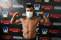 Brandon Valdes, Ricardo Espinoza - Miami, Fla: All systems are a go for this Friday Night's return of BoxeoTelemundo 12AM/EST