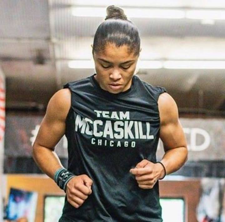 Jessica McCaskill - McCaskill gambles big by stepping up in weight class to potentially be crowned the undisputed welterweight champion of the world