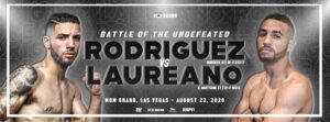 "Anthony Laureano, Julian Rodriguez - An ""0"" must go on August 22 when undefeated East Hartford, Connecticut's, ""ACTION"" ANTHONY LAUREANO (13-0 4KO's) takes on Hoboken, New Jersey's, JULIAN ""HAMMER HANDS"" RODRIGUEZ (19-0 12KO's) in a scheduled 10-round super lightweight bout at The Bubble inside of MGM Grand in Las Vegas. The bout is set to take place on the undercard of the highly anticipated WBO World Title Eliminator between Long Island's Common Man and #4 world rated (WBO) light heavyweight, JOE ""THE BEAST"" SMITH JR. (25-3 20KO's) and #3 world (WBO) rated light heavyweight, ELEIDER ""STORM"" ALVAREZ (25-1 13KO's). Laureano, like Smith Jr., fights under the Star Boxing banner."