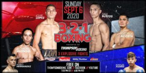 Carlos Velasquez, George Acosta, Louie Lopez - Carlos Velasquez 3.2.1. Boxing Training Camp Notes