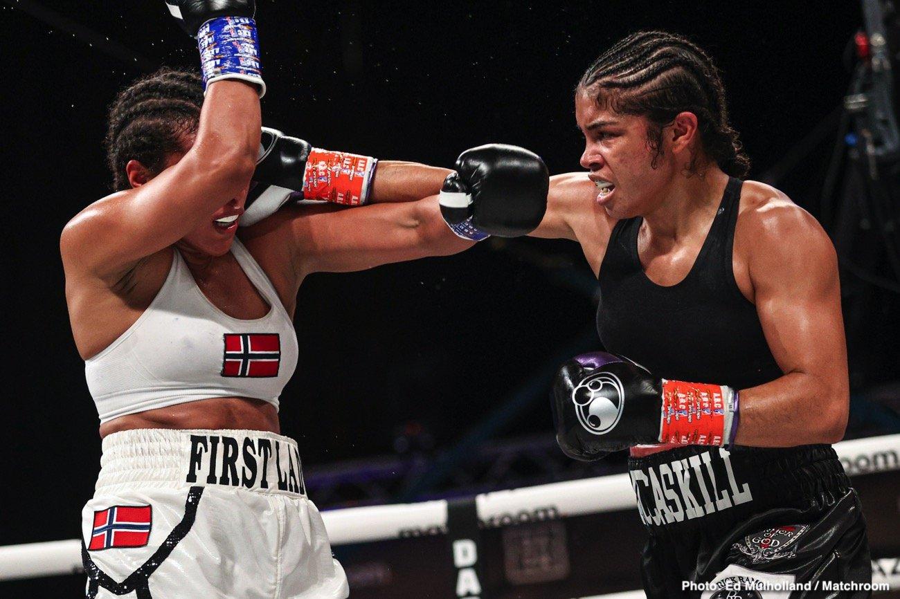 Cecilia Braekhus, Jessica McCaskill - Boxing News
