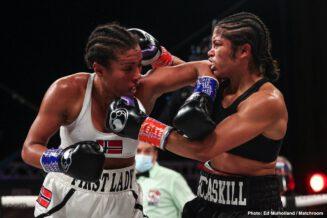 Cecilia Braekhus, Israil Madrimov, Jessica McCaskill, Nikita Ababiy, Shakhram Giyasov - Boxing News