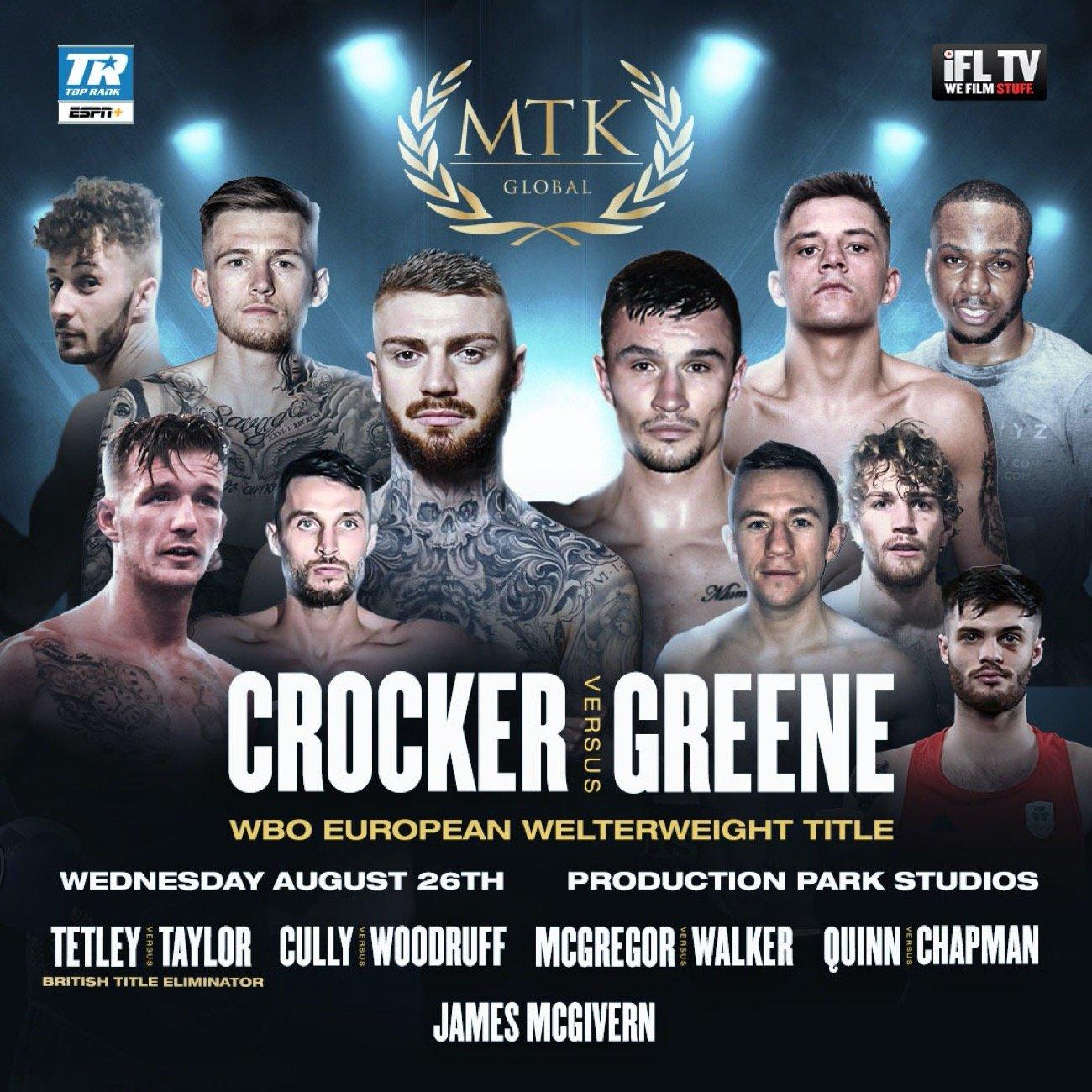 Lewis Crocker - British Boxing