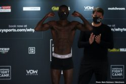Chris Kongo, Luter Clay - Luter Clay has warned Chris Kongo that he will be looking to end their WBO Global Welterweight Title fight early when they clash on the undercard of Dillian Whyte vs. Alexander Povetkin at Matchroom Fight Camp this Saturday August 22, live on Sky Sports Box Office in the UK and DAZN in the US.