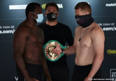 Alexander Povetkin, Delfine Persoon, Dillian Whyte, Katie Taylor - In The US: WHYTE VS. POVETKIN, TAYLOR VS. PERSOON II TO STREAM LIVE ON DAZN FROM MATCHROOM FIGHT CAMP ON SATURDAY, AUGUST 22 AT 2 P.M. ET - UK Times: 19:00 LIVE ON SKY SPORTS AND SKY SPORTS BOX OFFICE