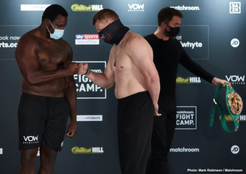 Alexander Povetkin, Delfine Persoon, Dillian Whyte, Katie Taylor - Boxing News