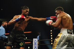 "Jamal James - Top welterweight Jamal ""Shango"" James won an exciting unanimous decision over Thomas Dulorme to capture the Interim WBA Welterweight Title Saturday night in the main event of of FOX PBC Fight Night and on FOX Deportes, from the Microsoft Theater in Los Angeles."