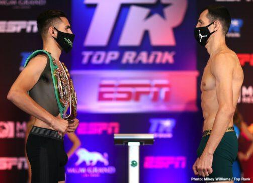 Jose Ramirez, Viktor Postol - Jose Ramirez vs. Viktor Postol Livestream at 7:30 p.m. ET / 4:30 p.m. PT live on ESPN+ from the MGM Grand Conference Center - Grand Ballroom (Las Vegas)