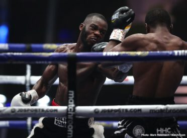 Alen Babic, Chris Kongo, Jack Cullen, Zak Chelli - Chris Kongo clinically dispatched Luther Clay in the ninth round of their WBO Global Welterweight Title battle at Fight Camp.
