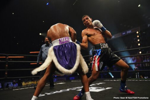 Osvary David Morrell - A Future Superstar? Osvary David Morrell Claims Interim WBA 168 Pound Title In Third Pro Bout