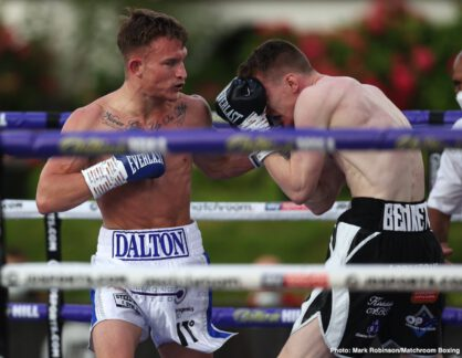 Daulton Smith, Fabio Wardley, James Tennyson, Jordan Gill, Sam Eggington, Ted Cheeseman - Boxing News