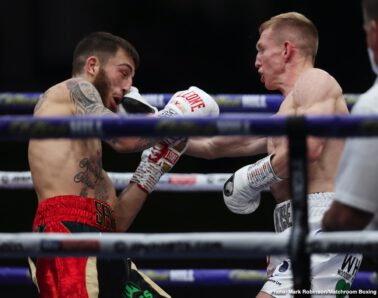 Daulton Smith, Fabio Wardley, James Tennyson, Jordan Gill, Sam Eggington, Ted Cheeseman - Sam Eggington and Ted Cheeseman served up an unforgettable Fight of the Year contender on a spectacular opening night of Matchroom Fight Camp in Brentwood, Essex, live on Sky Sports in the UK and DAZN in the US.