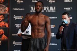 Anthony Yarde, Dec Spelman, Mark Heffron - Now that all the participants are weighed-in, and confirmed covid-free, Hall-of-Fame Promoter Frank Warren's incredible run of shows can continue live, tomorrow night on BT Sport 1 from 7.30pm.