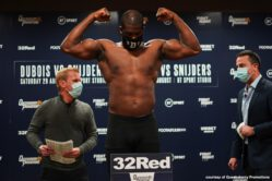 Daniel Dubois - The most exciting prospect in all of Heavyweight boxing, Daniel Dubois, returns tomorrow night on BT Sport 1. 'Dynamite' will test his skills against the 18-1 Dutchman Ricardo Snijders.