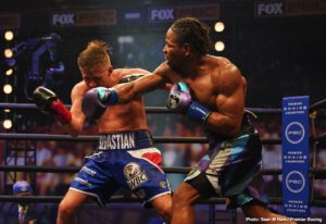 """Sebastian Formella - Shawn Porter might be one of the most consistently exciting fighters today. Whether he wins a decision, drops a close decision or wins by KO or stoppage, Porter gives his all. Amazingly well-conditioned and able to throw an incredible amount of leather in pretty much every round of every fight, Porter leaves it all in the ring. And last night, in winning a one-sided unanimous decision over a previously unbeaten Sebastian Formella in an IBF elimination bout, """"Showtime"""" maneuvered himself closer to another big fight."""
