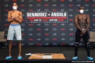 David Benavidez, Roamer Alexis Angulo - Boxing News