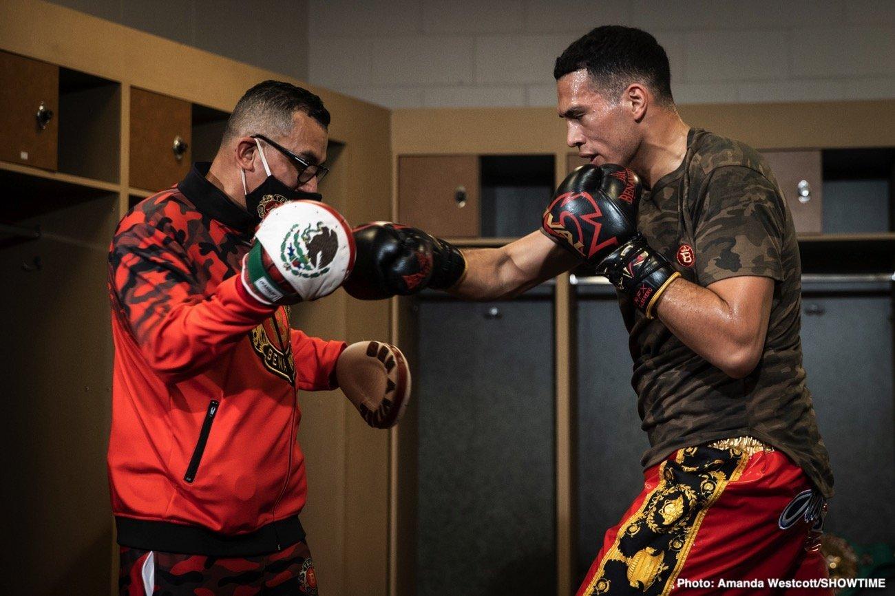 Canelo Alvarez, David Benavidez, Ronald Ellis - Boxing News