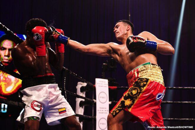 Davis Benavidez, Otto Wallin, Rolando Romero - Boxing News