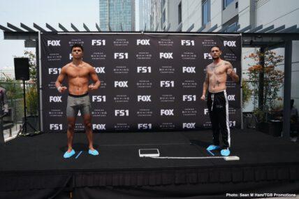 Sebastian Fundora, Shawn Porter - Boxing News