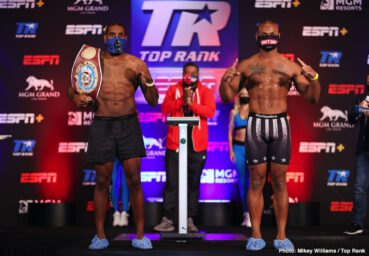 Jamel Herring, Jonathan Oquendo - ESPN+ 7:30 p.m. ET / 4:30 p.m. PT - live on ESPN+ from the MGM Grand Conference Center - Grand Ballroom (Las Vegas)