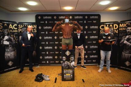 Chad Sugden, Shakan Pitters - British Boxing