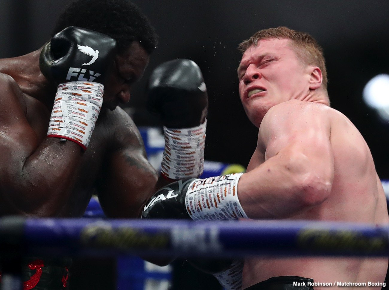 Alexander Povetkin, Dillian Whyte - Dillian Whyte has quite sensationally come out and said how he doesn't believe Alexander Povetkin really caught the coronavirus, COVID-19. Speaking with Sky Sports, Whyte said he thinks Povetkin - who of course knocked him out in the fifth round back in August, this after the Russian has been on the floor two times himself - made it up so as to buy more time in which to get ready for their return fight.