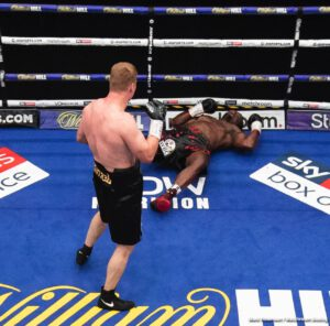 Alexander Povetkin, Dec Spelman, Dillian Whyte, Frank Warren - Promoter Frank Warren has brought up an interesting fact regarding the respective suspension of two fighters – Dillian Whyte and Dec Spelman.