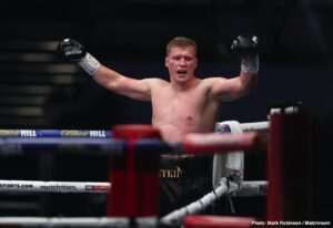 Alexander Povetkin, Tyson Fury - Can Alexander Povetkin repeat his big win over Dillian Whyte? The rematch is set for November and 41 year old Povetkin is confident he can and will defeat Whyte a second time. Then, as his promoter Andrey Ryabinskiy explained when speaking with Sky Sports, Povetkin will target a shot at WBC heavyweight ruler Tyson Fury (who must first come through okay in his third fight with former WBC champ Deontay Wilder; tentatively set for December 19).