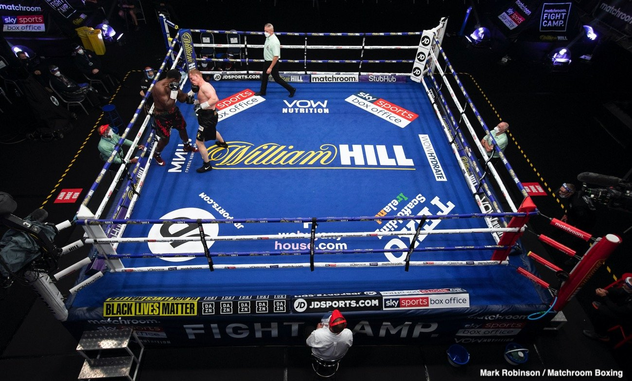 Alexander Povetkin, Dillian Whyte - Alexander Povetkin's knockout win over Dillian Whyte has woken him up and motivated him more than ever to return the favor in their rematch.