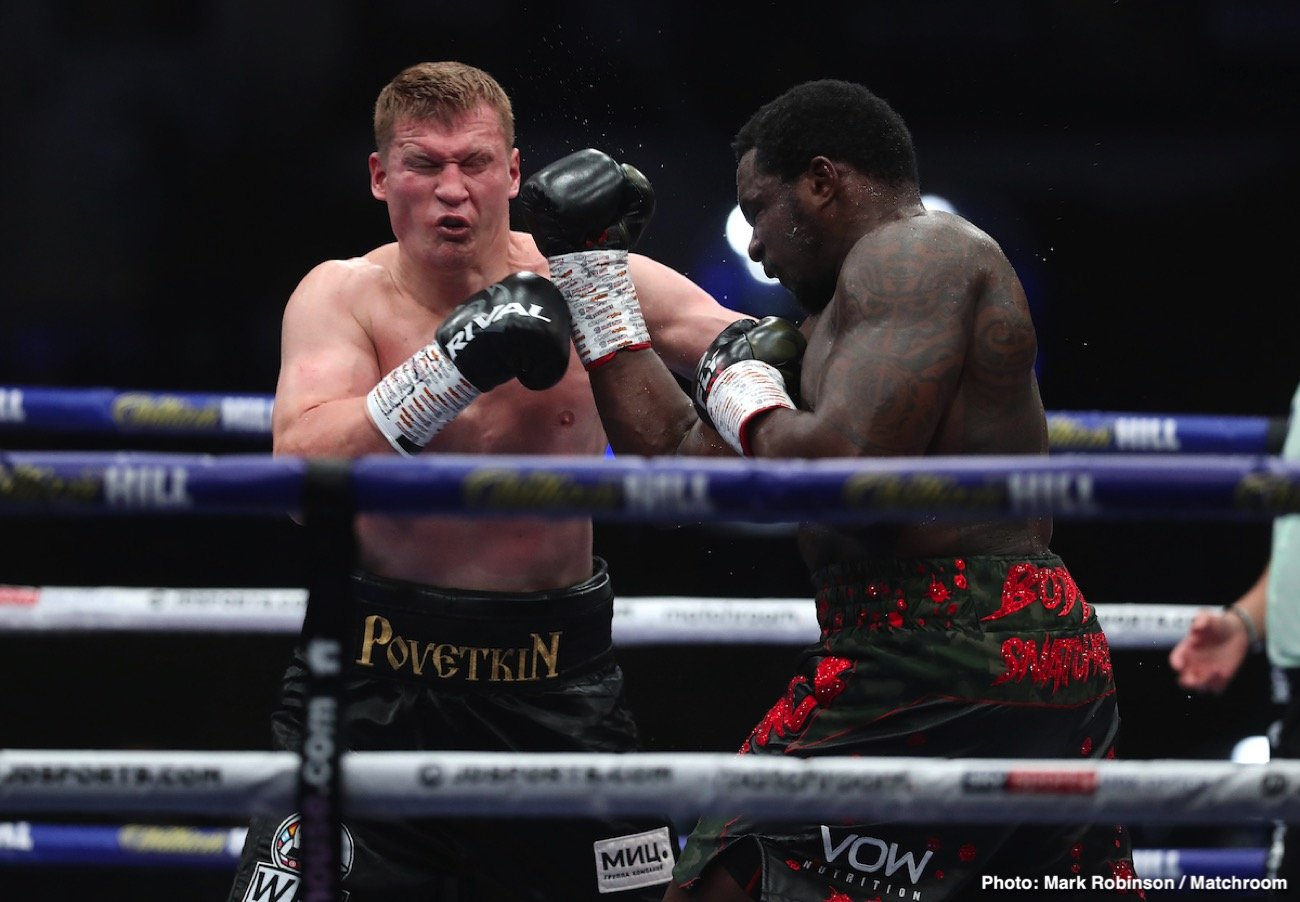 Alexander Povetkin, Dillian Whyte - Boxing News