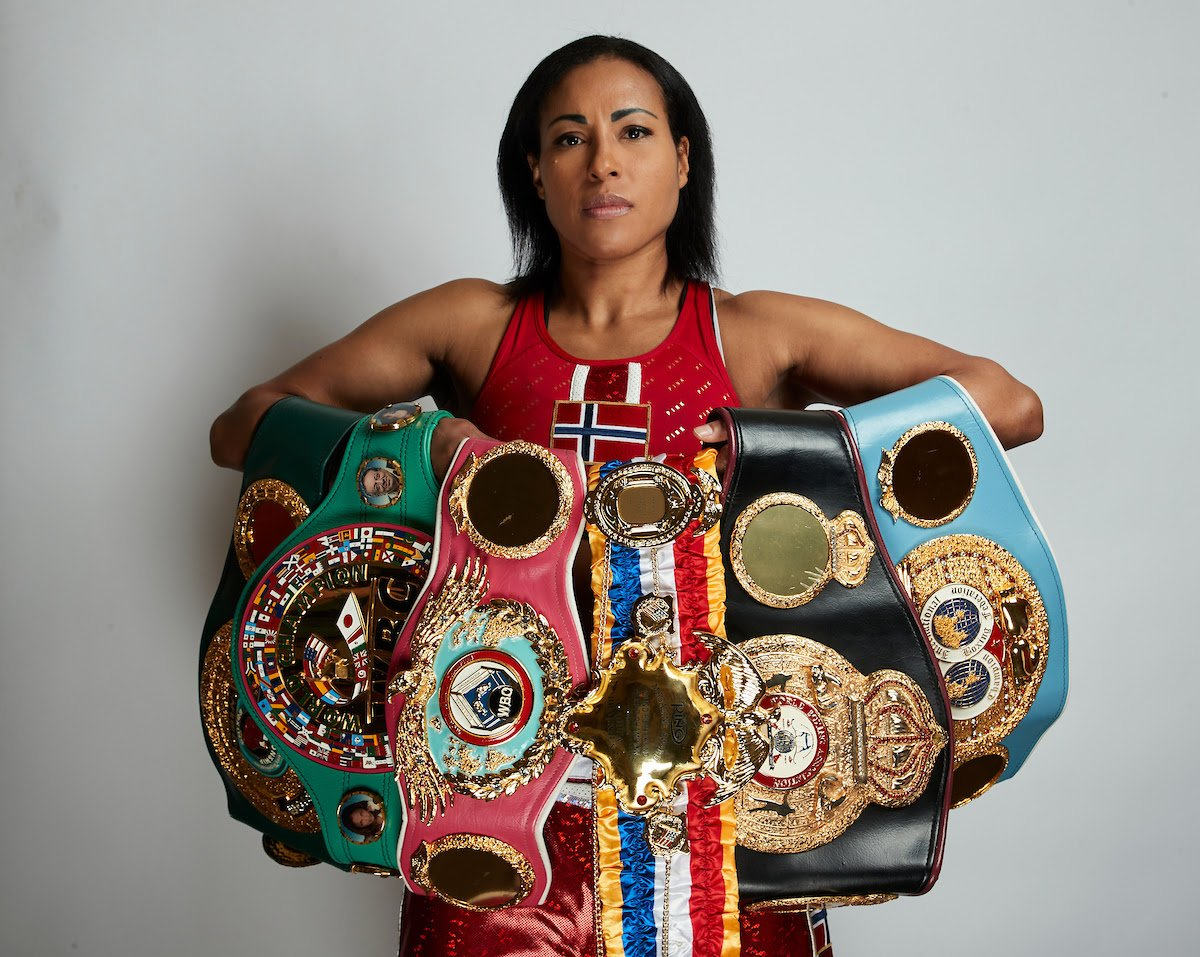 Cecilia Braekhus, Jessica McCaskill - Cecilia Brækhus is ready to burst out of her Big Bear training camp and become a record-breaker as the undisputed Welterweight champion puts her titles on the line against Jessica McCaskill on the streets of downtown Tulsa, Oklahoma, on Saturday, August 15, live on DAZN.