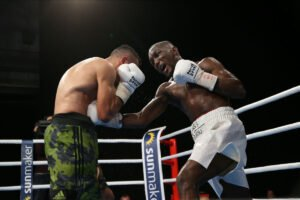 Abass Baraou - Following one of the best fights in recent years in Germany, Abass Baraou (9-1, 6 KOs) lost a controversial split decision to former World Champion Jack Culcay (29-4, 13 KOs) at the Harvel Studios in Berlin.