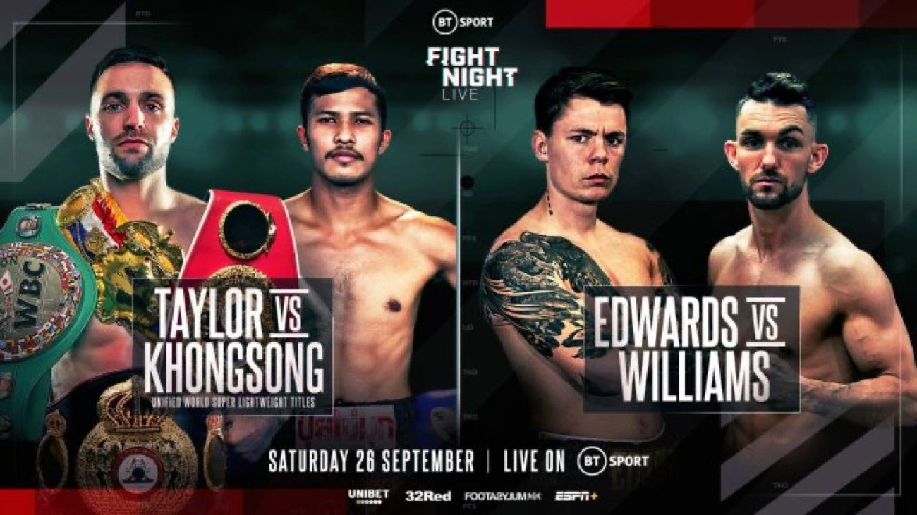 Charlie Edwards - FORMER WORLD CHAMP EDWARDS HEADS PACKED TAYLOR UNDERCARD