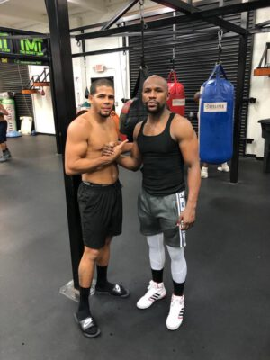 """Mayweather Promotions - The 11th ranked junior welterweight for the World Boxing Organization (WBO), Jean """"Lobo"""" Torres of Trujillo Alto, Puerto Rico, has signed a promotional contract with Mayweather Promotions."""