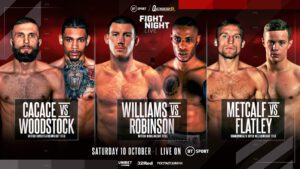 Andrew Robinson, Liam Williams, Nathan Gorman - THE HEAVYWEIGHT RETURN of Nathan Gorman against Richard Lartey will now take place on October 10, having been pushed back from its original date of September 12.