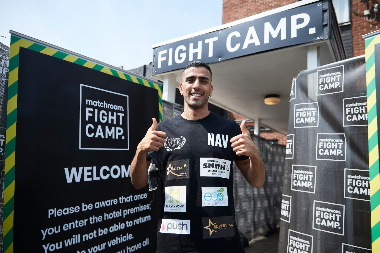Kieron Conway, Navid Mansouri - Navid Mansouri believes his ring craft will be too much for Kieron Conway when they meet over ten rounds for the vacant WBA Intercontinental Super-Welterweight Title at Matchroom Fight Camp in Brentwood, Essex, on Friday, August 14, live on Sky Sports in the UK and DAZN in the US.