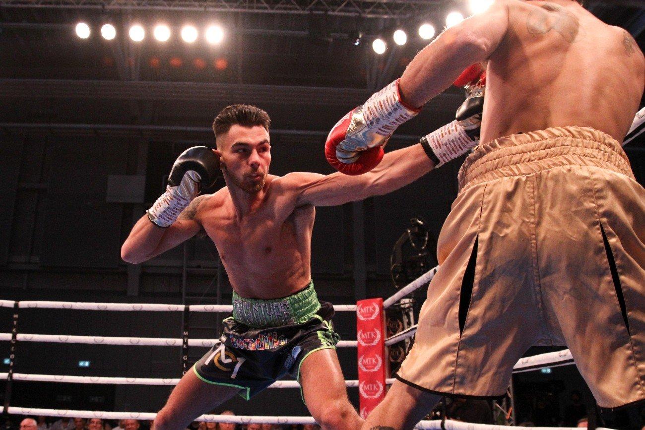 Craig MacIntyre, Ishmael Ellis - British Boxing